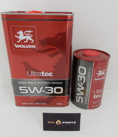 WOLVER ULTRATEC LONGLIFE 5W30 C3 504.00 507.00