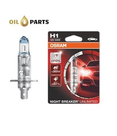 ŻARÓWKA OSRAM H1 Night Breaker Unlimited +110% blister 1szt.