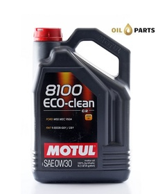 MOTUL 8100 ECO-CLEAN 0W30 C2