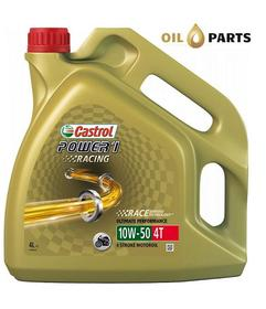 OLEJ CASTROL POWER 1 RACING 4T 10W50 4L