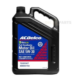 OLEJ ACDELCO 5W30 DEXOS 1 4.73L FULL SYNTHETIC