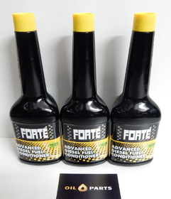 FORTE ADVANCED DIESEL FUEL CONDITIONER - 400ML x3