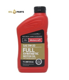 MOTORCRAFT 5W20 FULL SYNTHETIC 0,946L