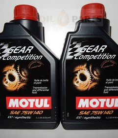 MOTUL GEAR COMPETITION 75W140 2L